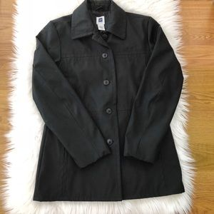 GAP {factory} Fitted Black Jacket